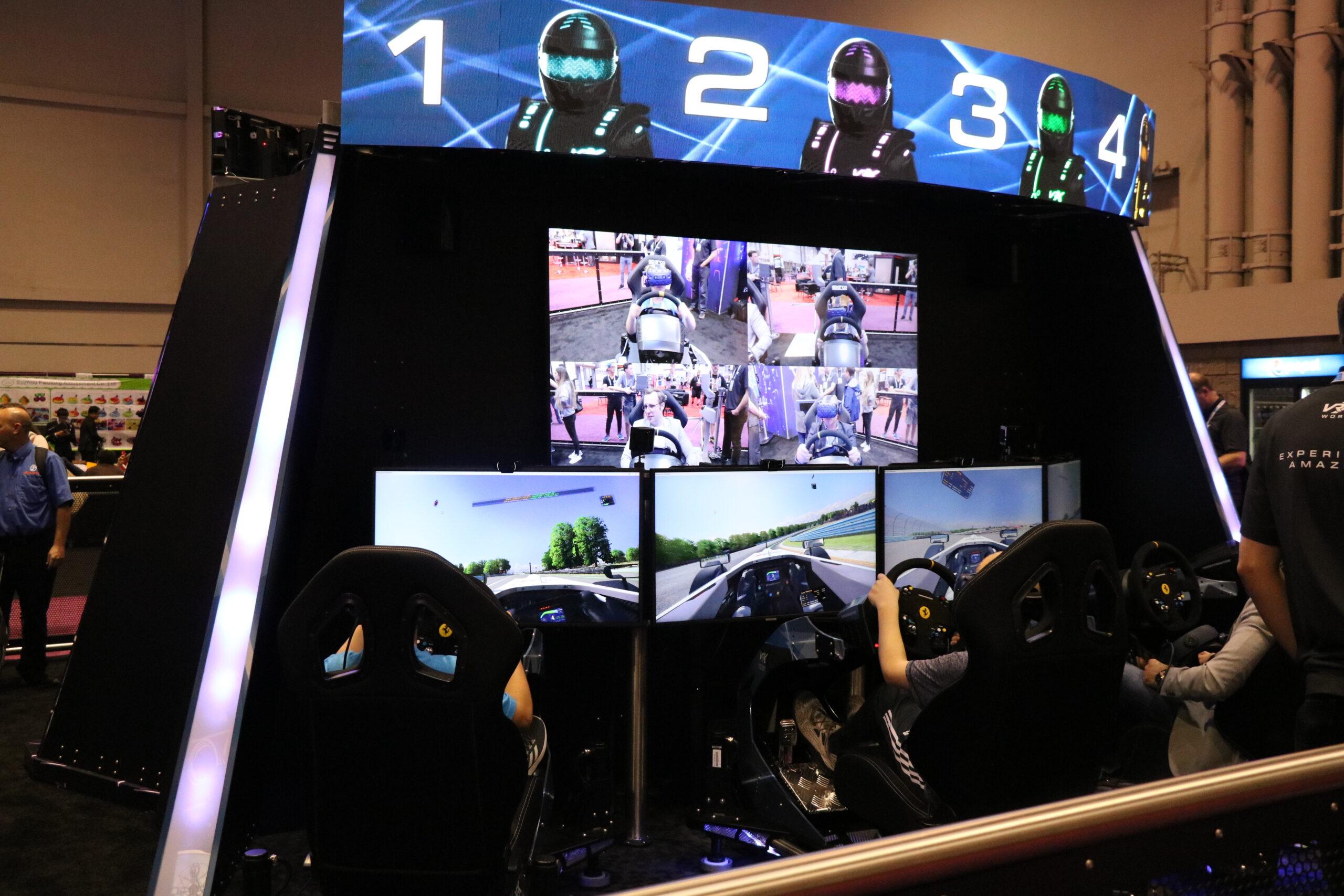 vrx raceroom commercial simulation