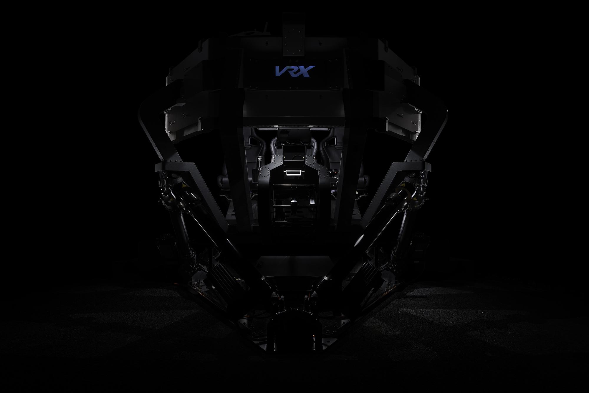 VRX Raptor 6DOF simulator