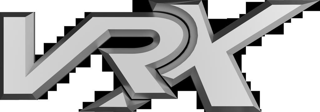 VRX chrome logo