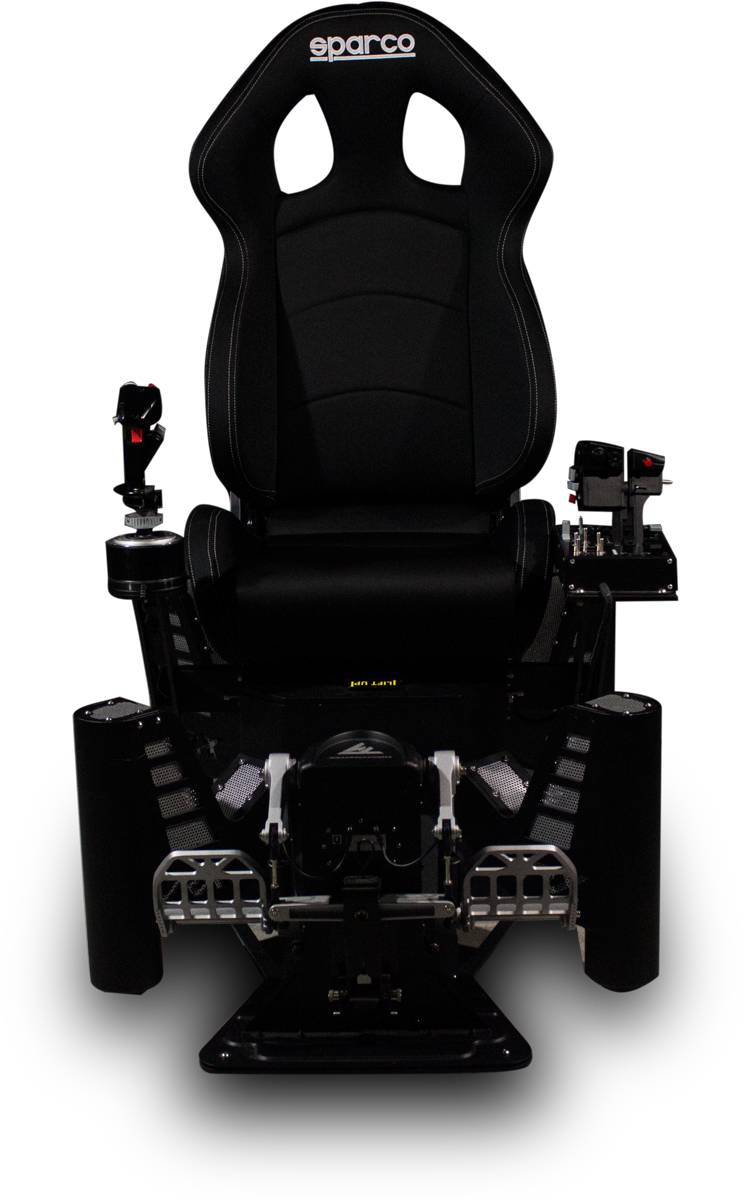 vr flight simulator chair