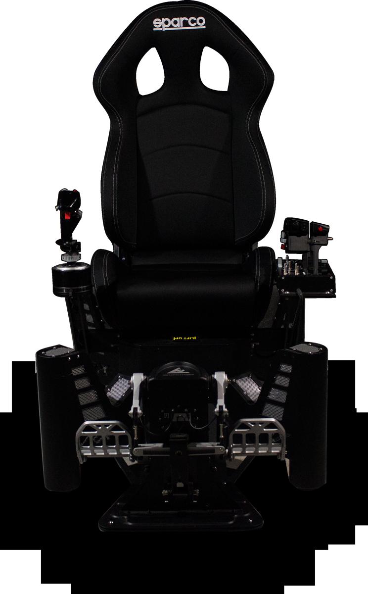vr flight simulator chair