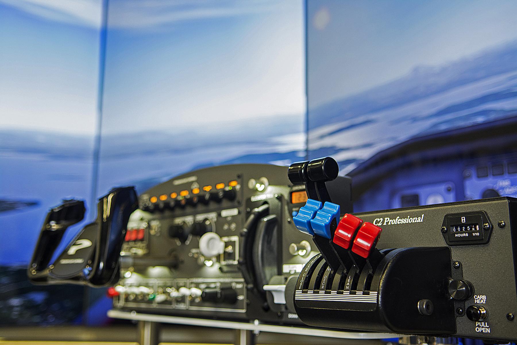 flight panel general aviation simulation