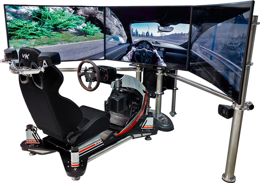 imotion racing simulator porsche