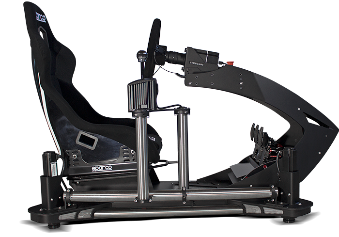 imotion racing simulator sideview