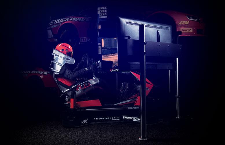 professional series simulator header mobile