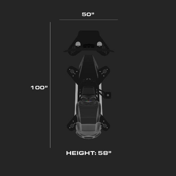 simulator dimensions 1 x 55
